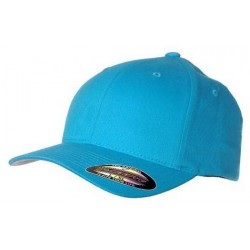 Carolina blauw Flexfit cap