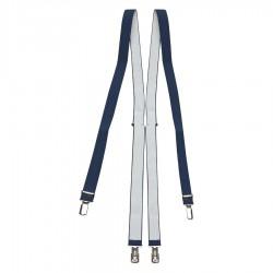 Marineblauw bretels
