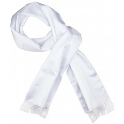 Witte smoking sjaal