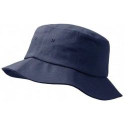 Donkergrijs emmer hoed