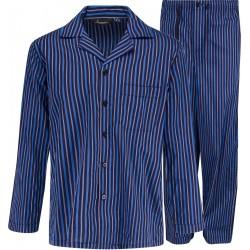 Blauw gestreepte pyjama