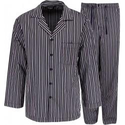 Ambassador pyjama - grijs gestreept