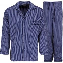Ambassador pyjama's - Blauw / Wit