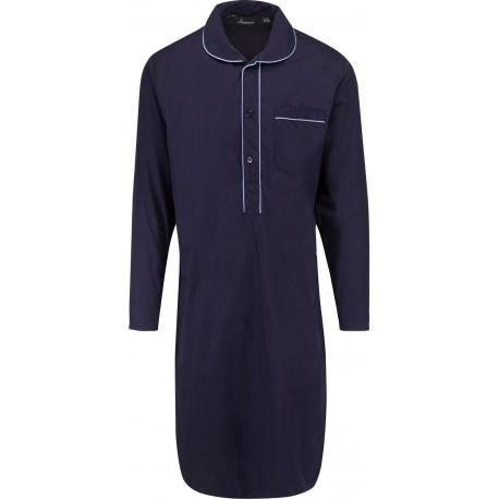 Donkerblauwe nachthemd