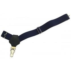 Donkerblauw sok bretels
