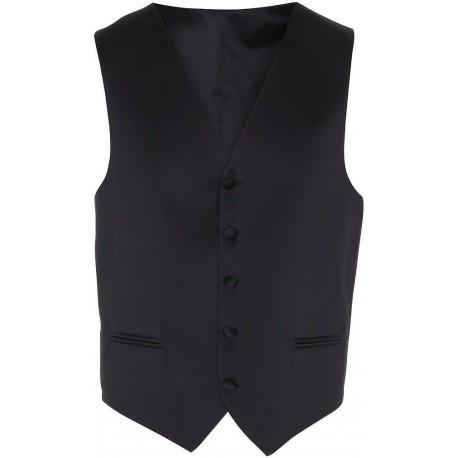 zwarte smoking vest
