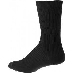 Herensokken zonder elastiek - Zwarte