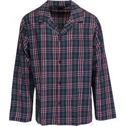 Schiesser pyjama voor mannen - geruite Groen