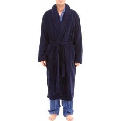 Donkerblauw badjas