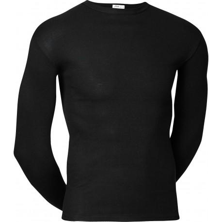 Zwart JBS onderhemd met lange mouwen