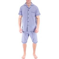 Lichtblauw heren pyjama