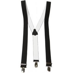 Zwarte brede Y-bretels
