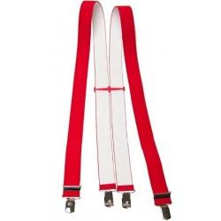 Brede rode bretel