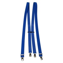 Kobaltblauw bretels