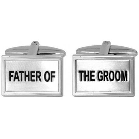 manchetknopen vader van de bruidegom