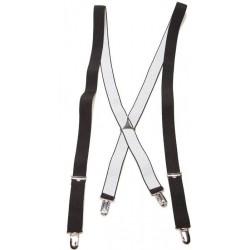 Zwarte X bretels