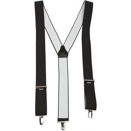 Zwarte brede y bretels