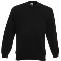Zwart heren sweatshirt