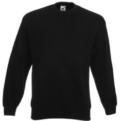 Zwart heren sweatshirt