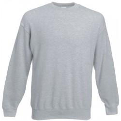 Grijs gespikkeld heren sweatshirt