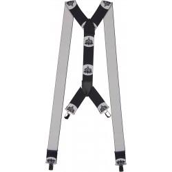 Extra brede bretels met metselaar motief