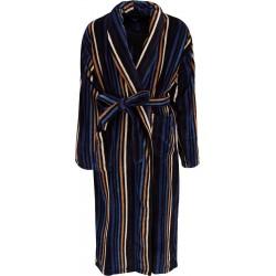 Ambassador badjas - Zwart gestreept