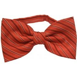 Vlinderdas met vierkantjes - Rood