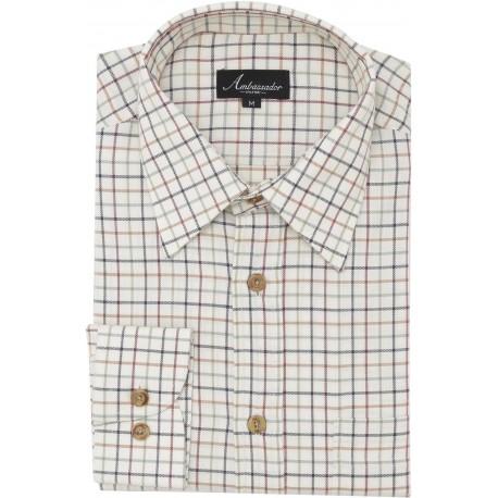 Ambassador overhemd - Tattersall geruite