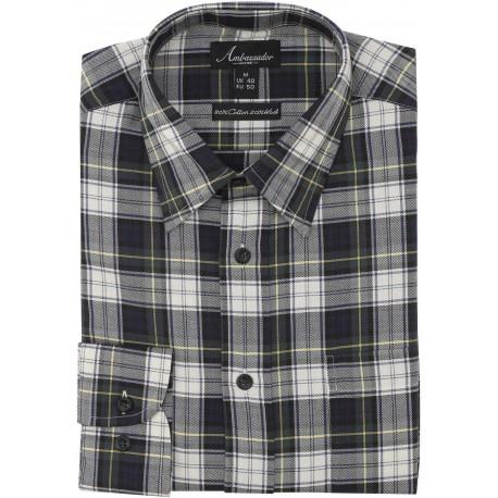 Ambassador overhemd - Gordorn tartan