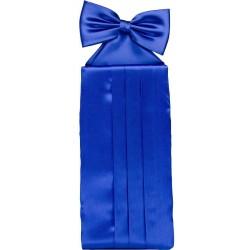 Kobaltblauw cummerbund