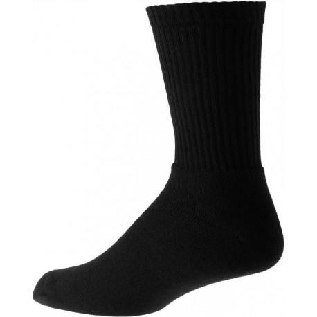 Dikke zwarte heren sokken met katoenen