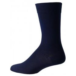 donkerblauwe sokken voor mannen