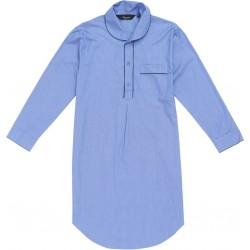 Medium blauwe nachthemd