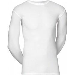 Witte JBS onderhemd met lange mouwen
